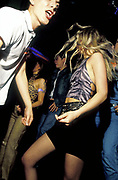 Dancing at a club in Prague, 20001