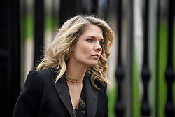 © Licensed to London News Pictures. 31/03/2018. Cambridge, UK. TV Presenter CHARLOTTE HAWKINS arrives at the funeral of Stephen Hawking at Church of St Mary the Great in Cambridge, Cambridgeshire. Professor Hawking, who was famous for ground-breaking work on singularities and black hole mechanics, suffered from motor neurone disease from the age of 21. He died at his Cambridge home in the morning of 14 March 2018, at the age of 76. Photo credit: Ben Cawthra/LNP