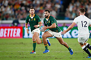 Damian de Allende of South Africa during the World Cup Japan 2019, Final rugby union match between England and South Africa on November 2, 2019 at International Stadium Yokohama in Yokohama, Japan - Photo Yuya Nagase / Photo Kishimoto / ProSportsImages / DPPI