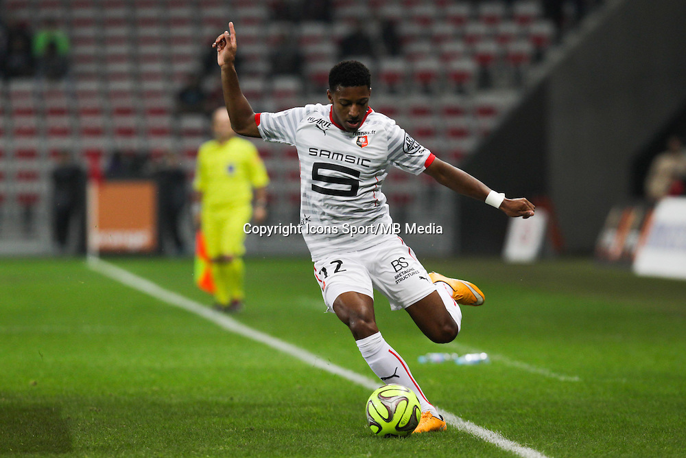 Steven MOREIRA - 03.12.2014 - Nice / Rennes - 16eme journee de Ligue 1 -<br /> Photo : Jean Christophe Magnenet / Icon Sport
