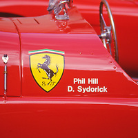 Vintage Racing Ferraris at Rockefeller Center Car Show