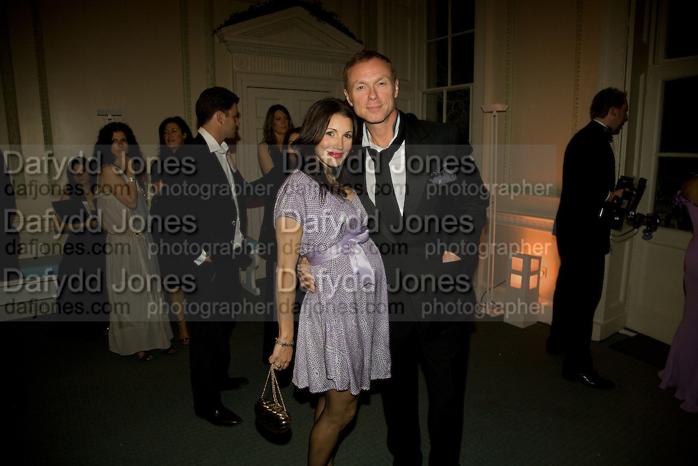 LAUREN KEMP; GARY KEMP, Nicky Haslam party for Janet de Botton and to celebrate 25 years of his Design Company.  Parkstead House. Roehampton. London. 16 October 2008.  *** Local Caption *** -DO NOT ARCHIVE-© Copyright Photograph by Dafydd Jones. 248 Clapham Rd. London SW9 0PZ. Tel 0207 820 0771. www.dafjones.com.