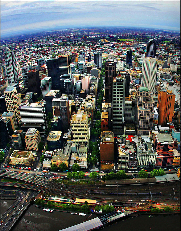 12-10-2005 The view from Eureka Tower which is nearing completion Pic By Craig Sillitoe melbourne photographers, commercial photographers, industrial photographers, corporate photographer, architectural photographers, This photograph can be used for non commercial uses with attribution. Credit: Craig Sillitoe Photography / http://www.csillitoe.com<br />