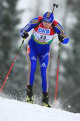 Bjorn Ferry (SWE) at Men 20 km Individual at E.ON Ruhrgas IBU World Cup Biathlon in Hochfilzen (replacement Pokljuka), on December 18, 2008, in Hochfilzen, Austria. (Photo by Vid Ponikvar / Sportida)