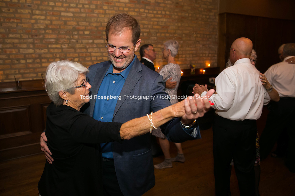 9/3/16 9:52:58 PM --  The wedding of Caroline Slack and Miles Maner at Revolution Brewing Co in Chicago, IL  © Todd Rosenberg Photography 2016