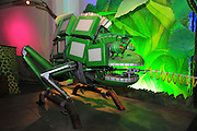 Israel, Haifa, MadaTech The Israel national Museum of Science The Robotic World exhibition, Robot Zoo, Chameleon Robot