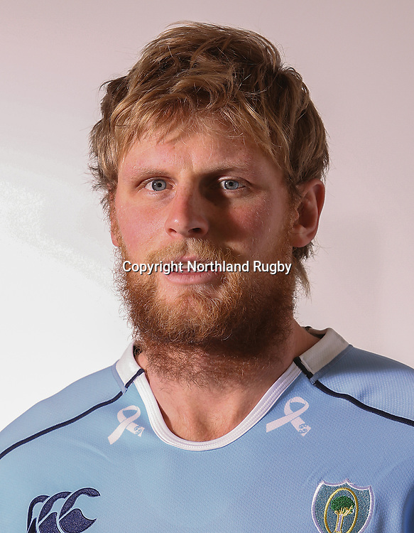 Shane Neville. Headshots of the Northland ITM Cup rugby union team for the 2015 season.