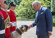 Prince Charles Meets Mascot Private Derby XXXI