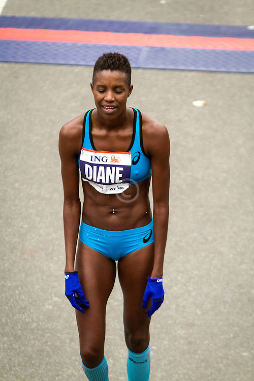 ING New York CIty Marathon: Diane Nukuri-Johnson exhausted after finishing tenth