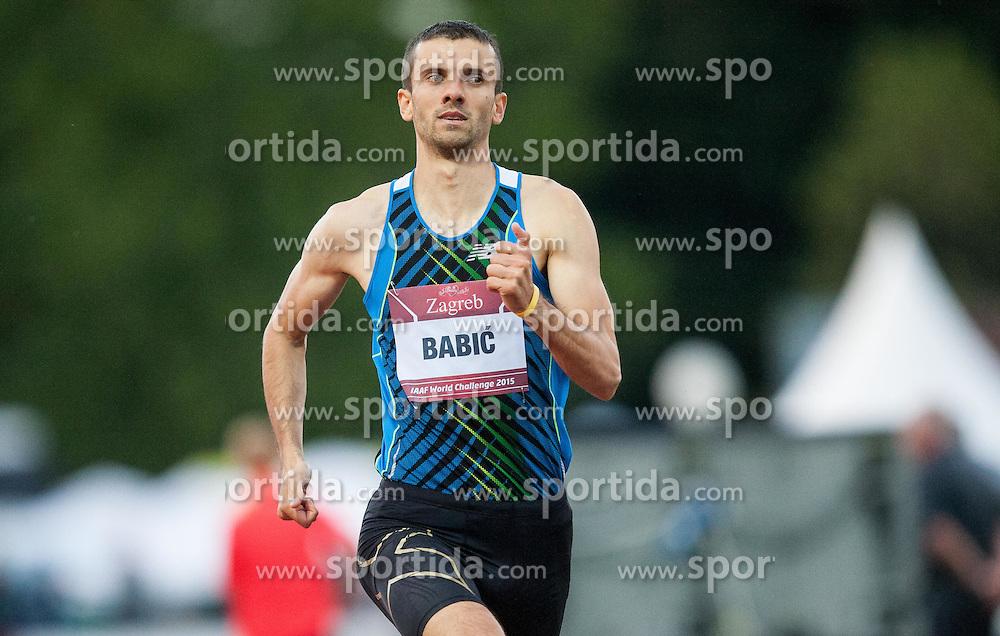 Dusan Babic of BiH competes  in 800m men  during IAAF World Challenge Zagreb - The 65th Hanzekovic Memorial Meeting, on September 8, 2015, in Stadium Mladost, Zagreb, Croatia. Photo by Vid Ponikvar / Sportida