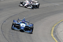 July 8, 2018 - Newton, Iowa, United States of America - ED JONES (10) of the United Arab Emirates battles for position during the Iowa Corn 300 at Iowa Speedway in Newton, Iowa. (Credit Image: © Justin R. Noe Asp Inc/ASP via ZUMA Wire)