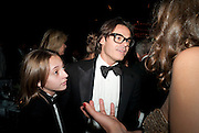 ARSON SORRENTI; MARIO SORRENTI, , The Global launch of the 2012 Pirelli Calendar by Mario Sorrenti.  Dinner at the Park Avenue Armory. Manhattan. 6 December 2011.