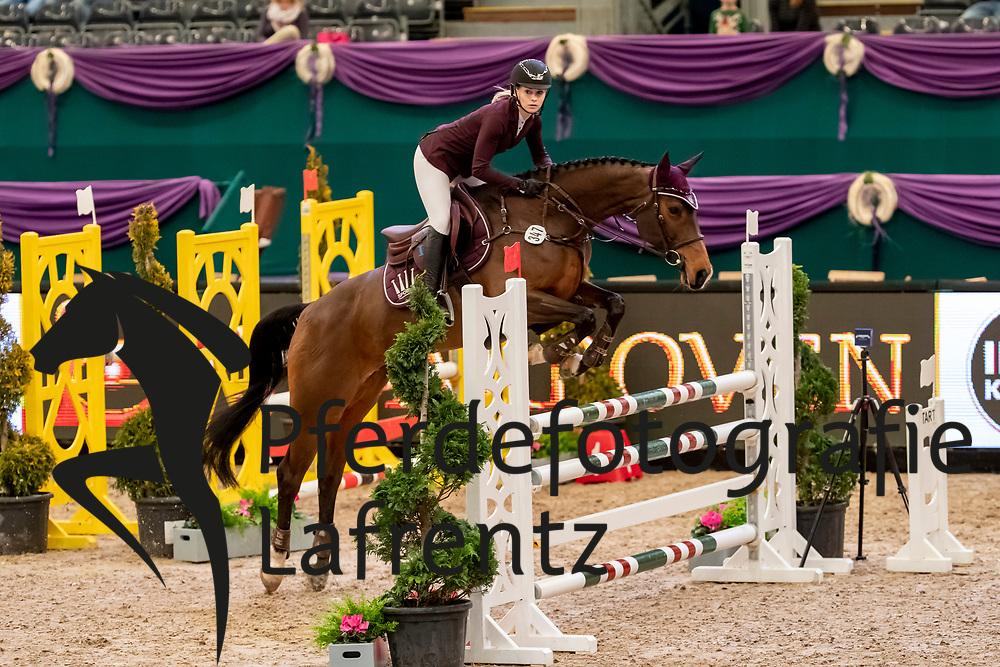 MEYER Saskia (GER), My Holly<br /> Leipzig - Partner Pferd 2019<br /> SPOOKS-Amateur Trophy<br /> Small Tour<br /> 17. Januar 2019<br /> © www.sportfotos-lafrentz.de/Stefan Lafrentz