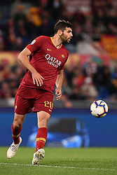 May 12, 2019 - Roma, Italia - Foto Alfredo Falcone - LaPresse.12/05/2019 Roma ( Italia).Sport Calcio.Roma - Juventus.Campionato di Calcio Serie A Tim 2018 2019 - Stadio Olimpico di Roma.Nella foto:fazio..Photo Alfredo Falcone - LaPresse.12/05/2019 Roma (Italy).Sport Soccer.Roma - Juventus.Italian Football Championship League A Tim 2018 2019 - Olimpico Stadium of Roma.In the pic:fazio (Credit Image: © Alfredo Falcone/Lapresse via ZUMA Press)