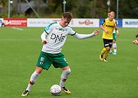 Fotball ,Post-nord ligaen ,  <br /> 10.09.17<br /> Nammo Stadion<br /> Raufoss v HamKam 2-0<br /> Foto : Dagfinn Limoseth , Digitalsport<br /> Simen Bolkan Nordli  , HamKam