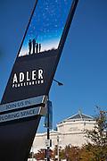 Adler Planetarium  in Chicago, IL, USA.