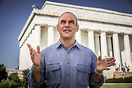 "Peter Sagal, host off the NPR Radio Program ""Wait, Wait, Don't Tell Me"" hosts the PBS program ""Constitution USA""."