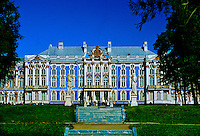 The Catherine Palace, Pushkin (16 miles south of St. Petersburg), Russia