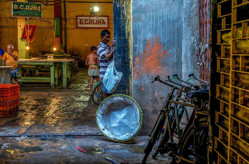 Sudder Street district, Central Calcutta, West Bengal, India