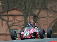 #7 Mario SARCHET Reynard FF86  during Avon Tyres Formula Ford 1600 Northern Championship - Pre 90 as part of the BRSCC Oulton Park Season Opener at Oulton Park, Little Budworth, Cheshire, United Kingdom. March 24 2018. World Copyright Peter Taylor/PSP.