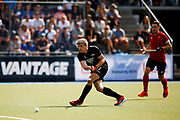 Sam Lane of the Black Sticks at the final game of the Black Sticks v Canada Test Matches 21 October 2018. Copyright photo: Alisha Lovrich / www.photosport.nz