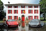 © Ferrari / LaPresse / Filippo Alfero<br /> Fiorano (MO), 12/06/2008<br /> motori<br /> Ferrari - Gamma Vetture 2008<br /> Nella foto: le 12 cilindri , 599 GTB Fiorano e 612 Scaglietti<br /> <br /> © Ferrari / LaPresse / Filippo Alfero<br /> Fiorano, Italy, 12/06/2008<br /> Ferrari - Range 2008<br /> In the photo: the 12 cylinders , 599 GTB Fiorano and 612 Scaglietti