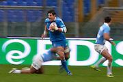 Foto Alfredo Falcone - LaPresse<br /> 23/11/2013 Roma ( Italia)<br /> Sport Rugby<br /> Italia - Argentina<br /> Rugby Test Match - Stadio Olimpico di Roma<br /> Nella foto:<br /> Zanni<br /> Photo Alfredo Falcone - LaPresse<br /> 23/11/2013 Roma (Italy)<br /> Sport Rugby<br /> Italy - Argentina<br /> Rugby Test Match - Olimpico Stadium of Roma<br /> In the pic:Zanni