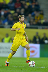 November 14, 2017 - Bucharest, Romania - Eric Bicfalvi (Rom) during International Friendly match between Romania and Netherlands at National Arena Stadium in Bucharest, Romania, on 14 november 2017. (Credit Image: © Alex Nicodim/NurPhoto via ZUMA Press)