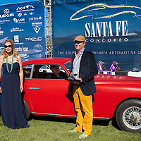 The Awards Ceremony for the 2013 Santa Fe Concorso.