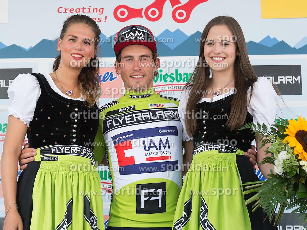 05.07.2015, Scheibbs, AUT, Österreich Radrundfahrt, 1. Etappe, Mörbisch nach Scheibbs, im Bild Sondre Holst Enger (NOR, 1. Platz Punktewertung) // Leader points classifikation Sondre Holst Enger of Norway during the Tour of Austria, 1st Stage, from Mörbisch to Scheibbs, Austria on 2015/07/05. EXPA Pictures © 2015, PhotoCredit: EXPA/ Reinhard Eisenbauer