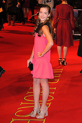 Celine Buckens attends the UK premiere of War Horse at Odeon Leicester Square, London, Sunday January 8, 2012. Photo By i-Images..