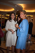 RITA FARHI; NICOLE CARTENDIERI, The Foreign Sisters lunch sponsored by Avakian in aid of Cancer Research UK. The Dorchester. 15 May 2012