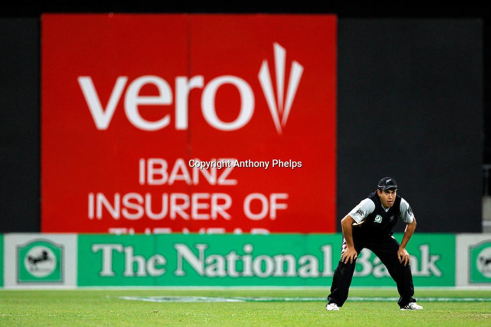 Ross Taylor New Zealand v Australia Twenty20 cricket match. Westpac Stadium, Wellington. Friday 26 February 2010. Photo: Anthony Phelps/PHOTOSPORT