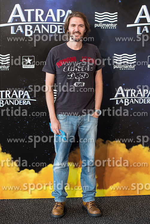 26.08.2015, Kinepolis Cinema, Madrid, ESP, Atrapa la Bandera, Premiere, im Bild Manuel Velasco attends to the photocall // during the premiere of spanish cartoon 'Capture The Flag&quot; at the Kinepolis Cinema in Madrid, Spain on 2015/08/26. EXPA Pictures &copy; 2015, PhotoCredit: EXPA/ Alterphotos/ BorjaB.hojas<br /> <br /> *****ATTENTION - OUT of ESP, SUI*****