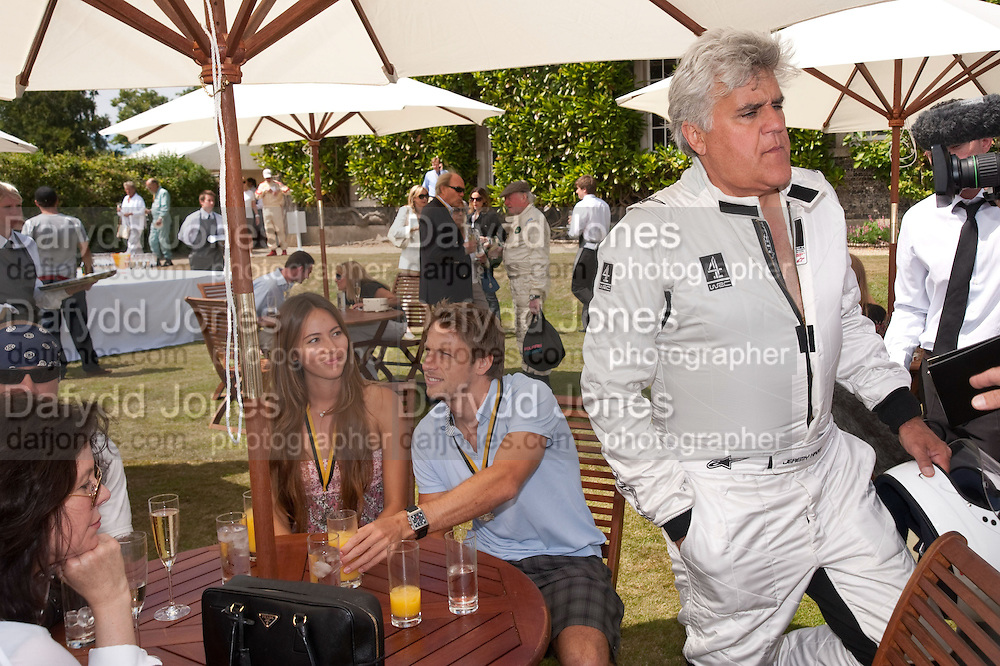 JESSICA MICHIBATA;  JENSON BUTTON; JAY LENO, Cartier Style et Luxe at the Goodwood Festival of Speed. Goodwood House. 5 July 2009.
