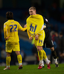 MANCHESTER, ENGLAND - Tuesday, January 18, 2011: Leicester City's Martin Waghorn looks dejected as his side lose 4-2 to Manchester City during the FA Cup 3rd Round Replay match at the City of Manchester Stadium. (Photo by David Rawcliffe/Propaganda)