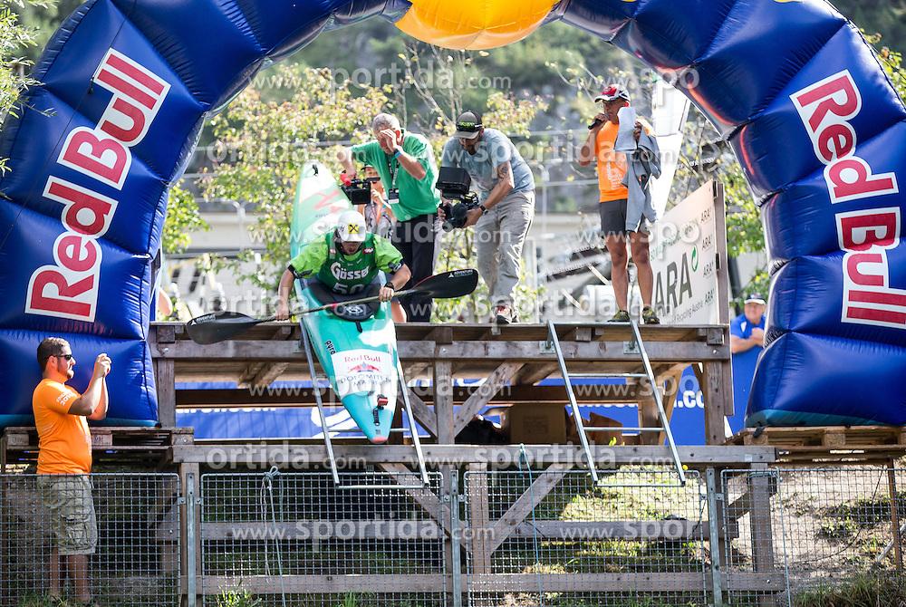 10.09.2016, Lienz, AUT, Red Bull Dolomitenmann 2016, Kajak, im Bild Marcel Hirscher (AUT, Kanute vom Team Wings for Life) // during the Kayak of the 2016 Red Bull Dolomitenmann at the Lienz, Austria on 2016/09/10. EXPA Pictures © 2016, PhotoCredit: EXPA/ Johann Groder
