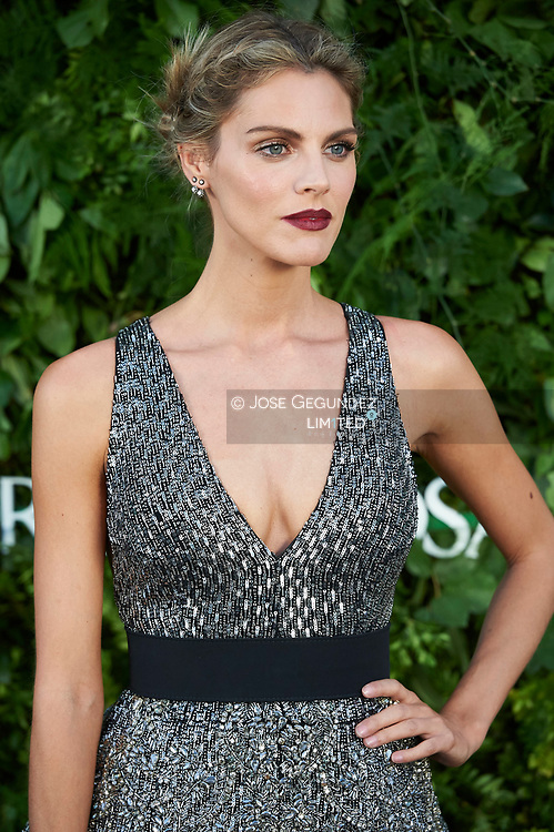 Amaia Salamanca attended the Opening of a Porcelanosa store on June 14, 2017 in Madrid