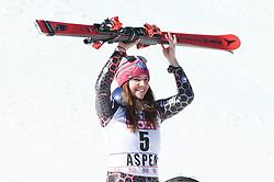 16.03.2017, Aspen, USA, FIS Weltcup Ski Alpin, Finale 2017, SuperG, Damen, im Bild Tina Weirather (LIE) // Tina Weirather of Liechtenstein during the ladies's Super-G of 2017 FIS ski alpine world cup finals. Aspen, United Staates on 2017/03/16. EXPA Pictures © 2017, PhotoCredit: EXPA/ Erich Spiess