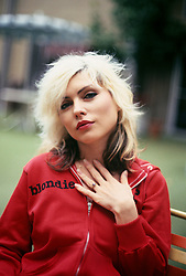 April 24, 1978 - Hollywood, California, U.S. - Debbie Harry of Blondie photographed at the Sunset Marquis in West Hollywood, CA.  April 24, 1978  (Credit Image: © Armando Gallo via ZUMA Studio)