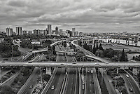 Downtown Portland & Interstate 5