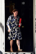 © Licensed to London News Pictures. 04/06/2013. Westminster, UK . Maria Miller, Conservative MP, Secretary  of  State  for  Culture,  Olympics,  Media and   Sport. MP's on Downing Street today 4th June 2013. Photo credit : Stephen Simpson/LNP