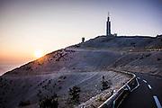 Sunrise over Mont Ventoux the morning after Le Tour de France Stage 2013