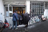 Roma, 07/10/2005: Moschea Al Huda in via dei Frassini a Centocelle, mese del Ramadan -  Al Huda Mosque in Frassini street in Centocelle, month of Ramadan<br /> &copy;Andrea Sabbadini
