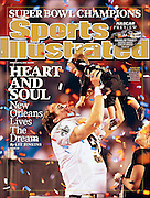 Drew and Baylen Brees, Superbowl XLIV -- Sun Life Stadium, Miami, Florida