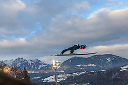 06.01.2016, Paul Ausserleitner Schanze, Bischofshofen, AUT, FIS Weltcup Ski Sprung, Vierschanzentournee, Bischofshofen, Probedurchgang, im Bild Andreas Wellinger (GER) // Andreas Wellinger of Germany during his trial jump of the Four Hills Tournament of FIS Ski Jumping World Cup at the Paul Ausserleitner Schanze in Bischofshofen, Austria on 2016/01/06. EXPA Pictures © 2016, PhotoCredit: EXPA/ JFK