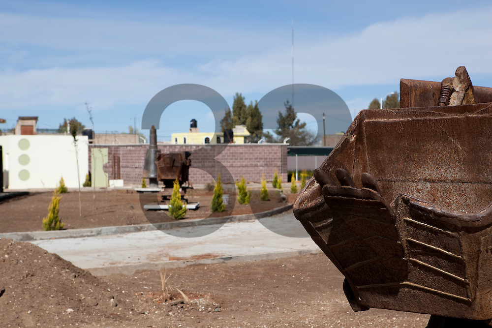The Fresnillo silver mine, the new nursery adjacent to hte mine. Zacatecas, Mexico. Fresnillo plc.