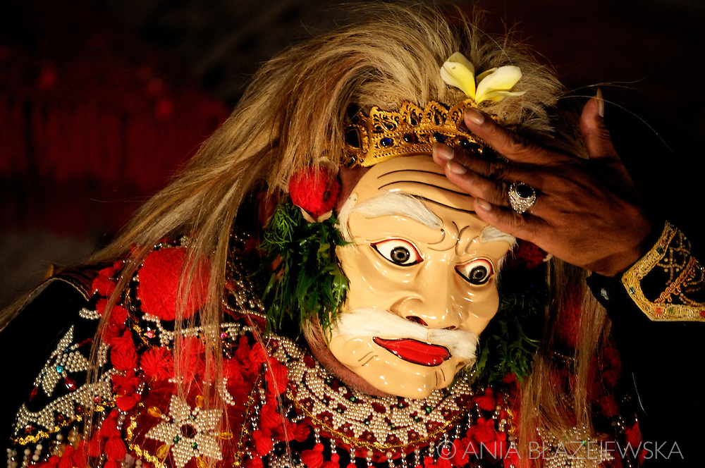 Indonesia, Bali. Traditional dance performance in Ubud.