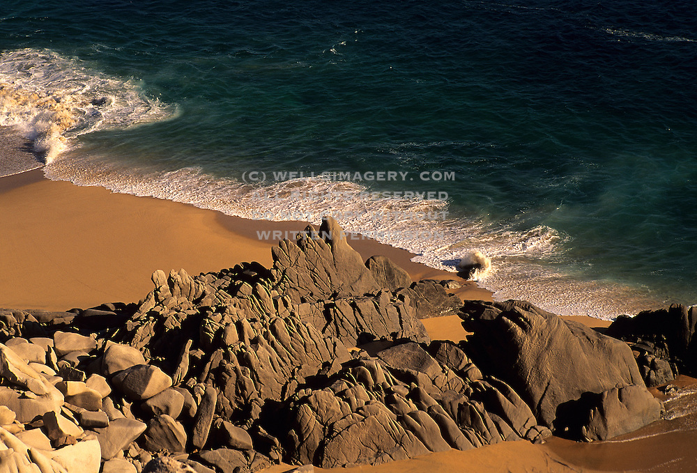Image of the beach at Cabo San Lucas, Baja California Sur, Mexico