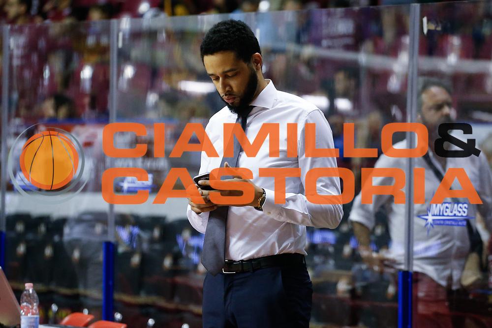 Micheal Robinson<br /> Umana Reyer Venezia - Dolomiti Energia Aquila Basket Trento<br /> Lega Basket Serie A 2016/17 Finali Gara 01<br /> Venezia, 10/06/2017<br /> Foto Ciamillo-Castoria / M. Brondi